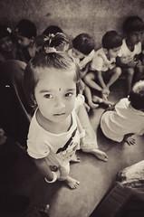DSC_3457 (rudy zain) Tags: street portrait bw india cute children photojournalism balckandwhite portraiture innocence tamron f28 udupi manipal mmmc anganwadi nikond7000 melakamanipalmedicalcollege rudyzain comunitymedicine