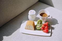 Breakfast (a l e x . k) Tags: morning film breakfast hotel switzerland geneva pentax intercontinental lx fa43mmf19