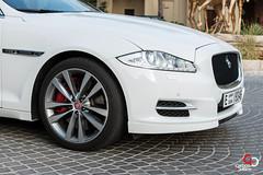Jaguar XJL-4.jpg (CarbonOctane) Tags: white dubai shoot uae review july jaguar 2012 xj carbonoctanecom 2012jaguarxjl