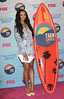 Kat Graham wearing a Chimera Jacket and Shorts by Wish The 2012 Teen Choice Awards held at the Gibson Amphitheatre - Press Room Universal City, California