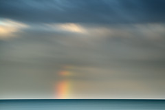 End of the Rainbow (Ger208k) Tags: longexposure ireland sea dublin seascape colour clouds rainbow horizon malahide gerardmcgrath