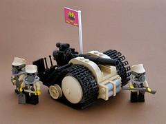 Czartillery (Mechanekton) Tags: gun lego military wwi artillery tweepunk dieselpulp