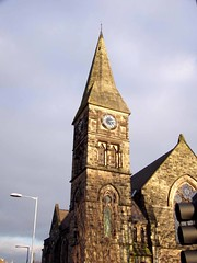 St John's, Stone, 3 Jan 2009 (DizDiz) Tags: uk england stone staffordshire canaltown olympusc720uz january2009