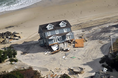 Senior leaders visit Sandy response efforts in...