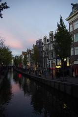 Red light district (Jc Mercier) Tags: amsterdam redlight redlightdistrict lumièrerouge