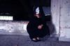 lutto - bereavement (Maieutica) Tags: portrait woman black muro wall hair death sadness donna hands shoes veil dress mask lace mani morte attic heels gloom lipstick melancholy ritratto nero malinconia velo scarpe maschera tristezza capelli pizzo rossetto lutto vestito tacchi bereavement soffitta solaio