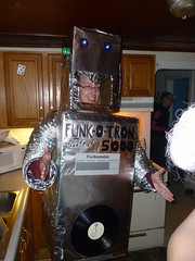 Funk-O-Tron is gonna rock for you at Kari and Owen's Halloween Party 2012 (benchilada) Tags: party halloween kari owen 2012