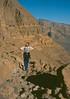 next morning: climbing down the crater (michael_jeddah) Tags: sahara desert chad caldera tchad volcanism tschad tibesti trouaunatron natronloch