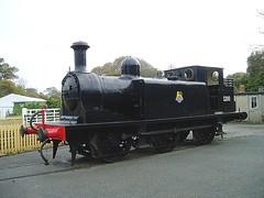 IWSR E1 110 (B110 SR) (steamie bob) Tags: burgundy 110 isleofwight yarmouth e1 w2 havenstreet isleofwightsteamrailway b110 iwsr