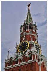 Spasskaya Tower (vadim.klochko) Tags: city trip travel vacation color history texture tourism architecture canon town russia moscow capital culture historical russian tamron cultural snapped travelphotography russianfederation russiancapital vadimklochko