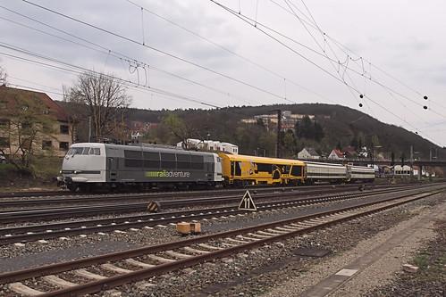D RailAdventure 103 222-6 Gemünden am Main 09-04-2016