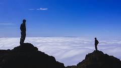 Above the Fog (Davor Desancic) Tags: california statepark selfportrait me fog mtdiablo lgg4