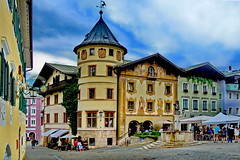 Bavaria, Berchtesgaden Town (gerard eder) Tags: world travel reise germany bavaria bayern baviera deutschland alemania alpen alps alpes mountains see lake lago berchtesgaden nature natur landscape landschaft paisajes