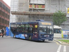 Reading Buses 652 YX64VLV Blagrave St, Reading on 500 (1280x960) (dearingbuspix) Tags: 652 parkride readingbuses yx64vlv