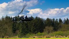 IMG_0566 (ppg_pelgis) Tags: school ireland summer flying may northern flyin airfield gyro tyrone autogyro 2016 omagh carrickmore gyroplane