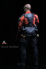 ART FIGURES AF-021 Dead Soilder - 012 (Lord Dragon ) Tags: hot toys actionfigure doll willsmith onesixthscale deadshot 16scale artfigures 12inscale