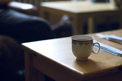 Time for tea (Tom Mathauser) Tags: canon vintage lens tea bokeh