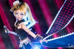 Maid Eli () Tags: toy japanese cafe nikon doll eli cosplay action dream figure bjd dd dollfie volks maid animate heero d810 lovelive