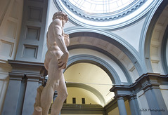 Michelangelo's David in his hall (GSB Photography) Tags: italy man art italian nikon gallery 500v20f 100v10f marble michelangelo renaissance masterpiece thedavid civilliberties d60 accademia 250v10f autoremovedfrom10to25faves