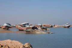 Qeshm Island, Iran (Torsten Sodemann) Tags: cemetery iran ships smugglers qeshmisland shipcemetery
