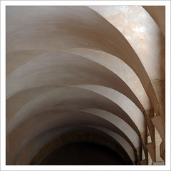 . (me*voil) Tags: abstract lines marseille curves columns repetition