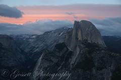 Painting Half Dome (gossettphotography) Tags: california travel sunset canon photography nationalpark wanderlust yosemite halfdome travelphotography neverstopexploring optoutside