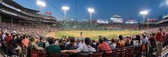 Evening at Fenway (Seth J Dewey Photo) Tags: panorama boston night baseball massachusetts redsox fenway