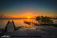 Jaycee Park Fort Pierce Sunset (Captain Kimo) Tags: sunset florida fortpierce indianriverlagoon stluciecounty hdrphotography jayceepark captainkimo lovefl aurorahdr
