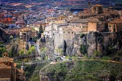 (152/16) Cuenca maravillosa a vista de pjaro (Pablo Arias) Tags: pabloarias espaa spain hdr photomatix nx2 photoshop nubes texturas cielo arquitectura cuenca castillalamancha casascolgadas