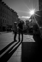 The Future (mripp) Tags: future zukunft art kunst street strase urban city stadt heritage black white mono monochrom regensburg oberpfalz bavaria bayern germany contra sun snap leica q