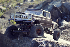 1970-s J-20_55 (My Scale Passion) Tags: old mountain scale truck vintage rocks jeep modeling body wide double retro climbing custom build scratch crawling rc wraith j20 crawler lifted styrene axial tekin scx10 myscalepassion