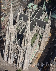 St. Patrick's Cathedral on Fifth Avenue, New York City (jag9889) Tags: 2016 20160614 5thavenue aerialview architecture building cathedral church deck fifthavenue house manhattan midtown ny nyc newyork newyorkcity observation observatory outdoor rockefellercenter rockefellerplaza romancatholic skyscraper spire stpatrickscathedral topoftherock usa unitedstates unitedstatesofamerica worship jag9889