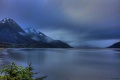 Blue Monday (tpeters2600) Tags: fog alaska canon landscape scenery neutraldensity eos7d tamronaf18270mmf3563diiivcldasphericalif