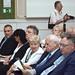 Harrach Péter, Vác országgyűlési képviselője feleségével, Csilla asszonnyal Fördős Zsolt, Vác polgármesterének és Íjgyártó István, a KKM kulturális és tudományos diplomáciáért felelős államtitkár társaságában