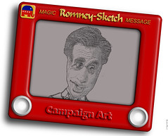Etch-A-Sketch:  Mitt Romney Changes Position on Abortion Again, Says He Has No Plans to Push for Legislation Limiting Abortions