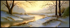 snowy meddle (DMel3) Tags: landscape scene oil thegalaxy natureplus flickrdiamond paintingsnow mygearandme mygearandmepremium blinkagain bestofblinkwinners blinksuperstars flickrstruereflection3 rememberthatmomentlevel4 flickrsfinestimages2 wwwseascapesoilpaintingscom soulocreativity3 soulocreativity4