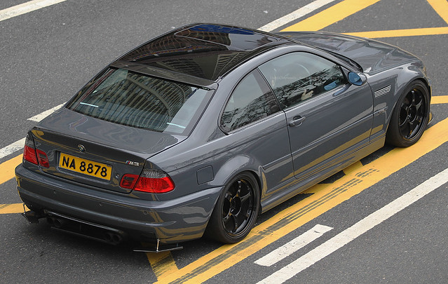 BMW, M3, E46, Causeway Bay, Hong Kong