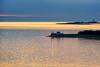 Leuchtfeuer (dubdream) Tags: ocean blue sunset sea lighthouse water germany landscape gold nikon meer escape shoreline balticsea atlantic ostsee fehmarn fehmarnsund colorimage d700 dubdream