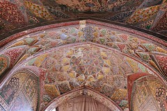 Fresco Marvel - Wazir Khan Mosque (z) Tags: city pakistan art colors architecture work muslim islam main entrance mosque khan calligraphy za fresco lahore f28 masjid ssm w