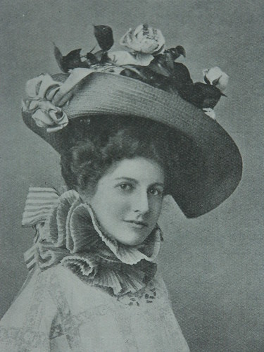 Edwardian bonnet