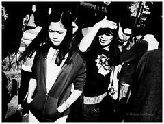 Face The Light [Explored] (Meljoe San Diego) Tags: street people bw fuji candid philippines streetphotography highcontrast x10 meljoesandiego