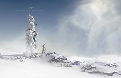 Journey in the ice (suliman almawash) Tags: art digital photoshop suliman     almawash ringexcellence