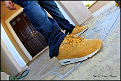 WDYWT 4-21-12 (Never Wear Them) Tags: max wearing shoe am tech you wheat air nike wear pack nsw mens what qs did today 90 premium 1990 vt vac timberlands maxes am90 wdywt nikesportswear nikevactech