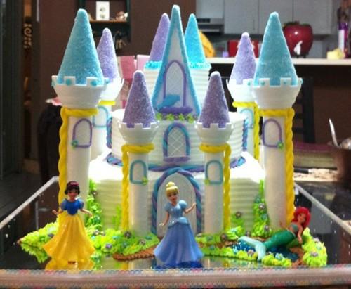 Bizcocho de las princesas de Disney - Imagui