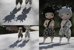A few... (LoveOnTheRox!) Tags: hat bug doll dress handmade ooak crochet bugs deer clothes tiny bjd handsewn resin limited libertyoflondon enyo poofypants loveontherox irrealdoll cuteandthings ohdeerhelmet shinycottonthread