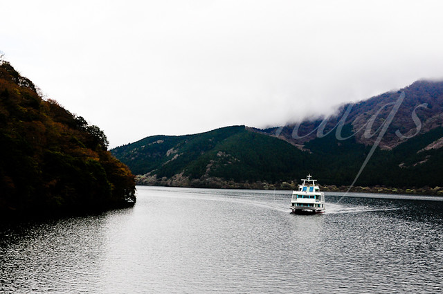 Lake Ashi, Hakone, Japan