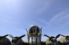 Warbirds 2012, B-17G under blue skies (d