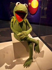 Kermit the Frog Puppet at the Smithsonian
