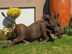 Warthog! (Cathlon *TryingtoCatchupCommentsagain*) Tags: wild animal statue chinese zodiac boar warthog sunsign scavenger7 ansh37
