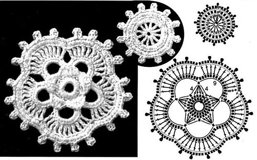 Flickriver most interesting photos from irish crochet lace pool irish crochet flower pattern dt1010fo